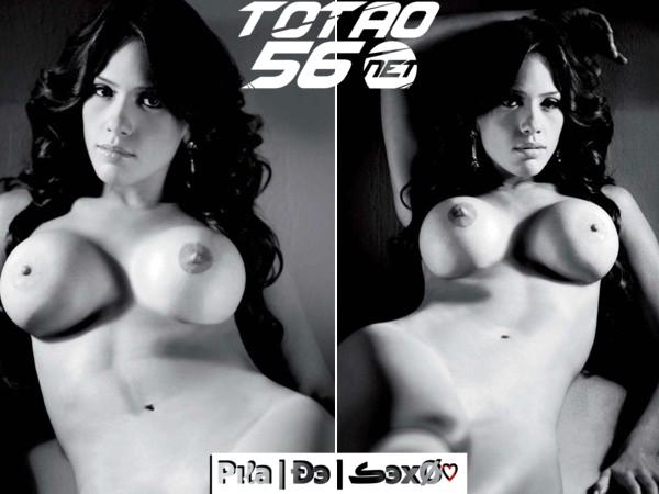En Katherine Bautista Posando Desnuda Para La Revista Playboy